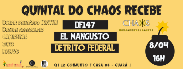 Quintal do Chaos 8.04 - capa Facebook